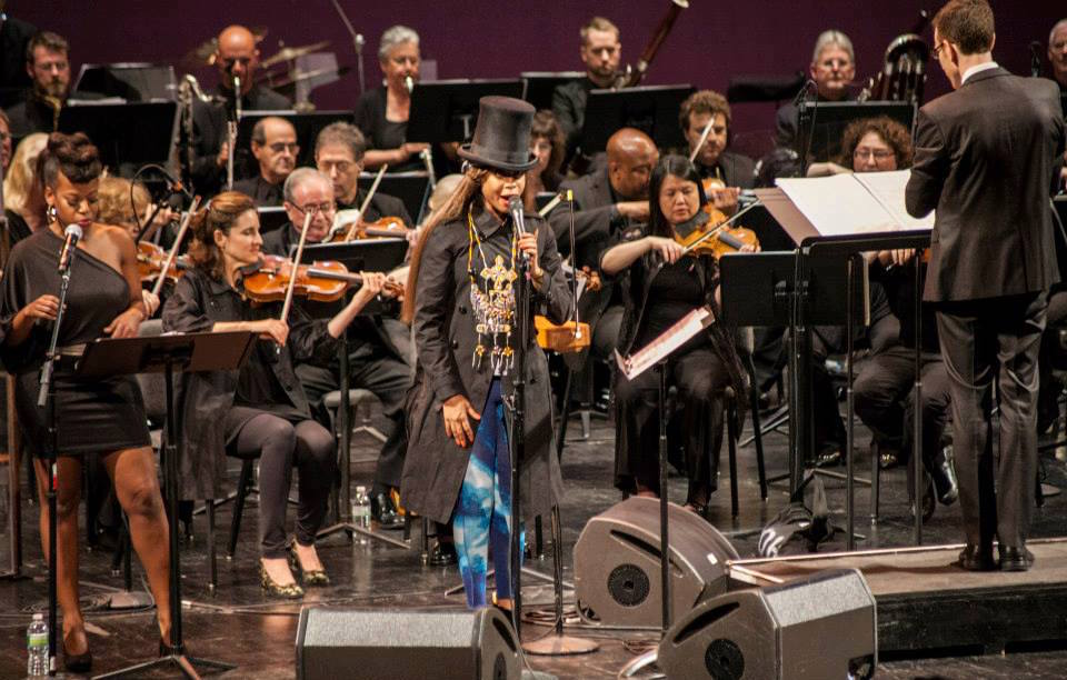 """The Brooklyn Philharmonic performs """"You're Causing Quite a Disturbance"""" in June 2013."""