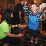 The Pittsburgh Symphony's sensory-friendly concert included a customized instrument petting zoo that was shaped to the abilities of the audience members.