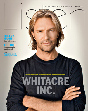 Spring 2013 Cover of Listen Magazine