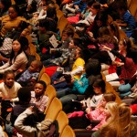 Kids at a Young People's Concert by the New York Philharmonic