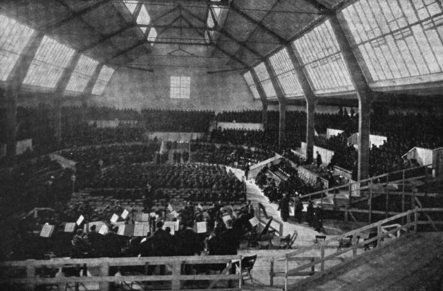 Munich, September 1910: Final rehearsal for the world premiere of Mahler's Eighth Symphony in the Neue Musik-Festhalle