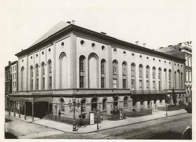 The Brooklyn Academy of Music, 1882 (Public Domain/From the New York Public Library)