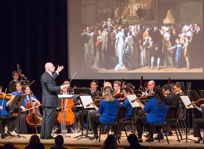 The Orchestra Now performs at the Met Museum (photo by David DeNee)
