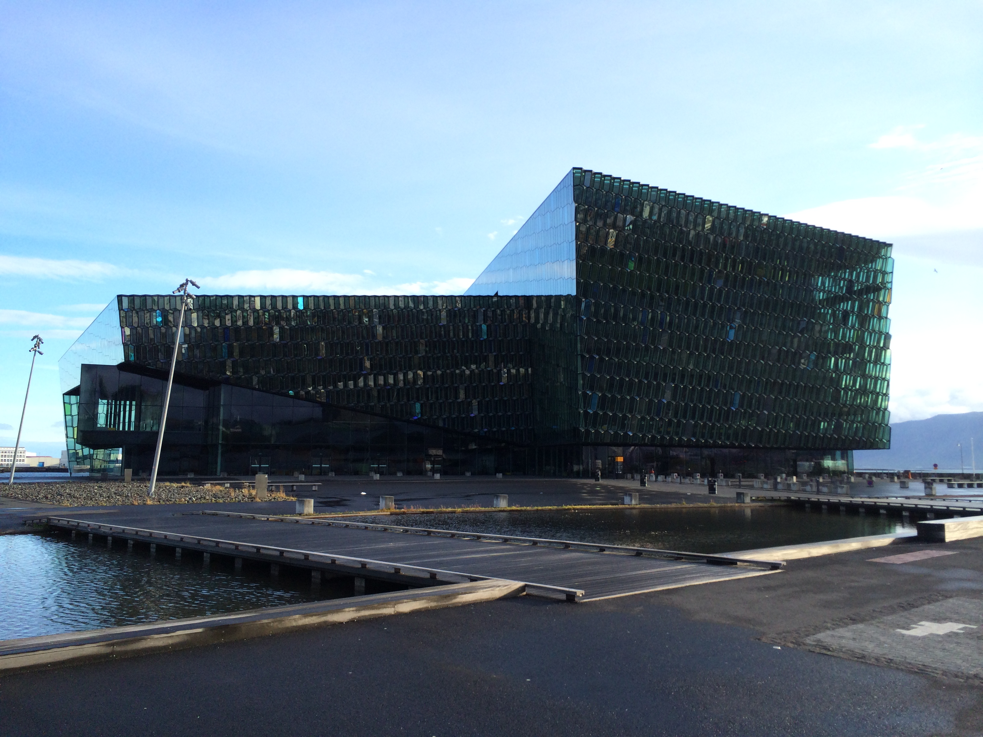 Harpa Concert Hall, Reykjavik (Photo: Brian Wise)