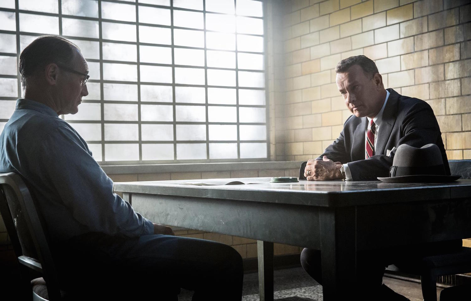 "Tom Hanks and Mark Rylance in ""Bridge of Spies"""