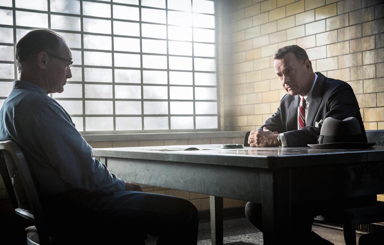 "Tom Hanks and Mark Rylance in ""Bridge of Spies"""