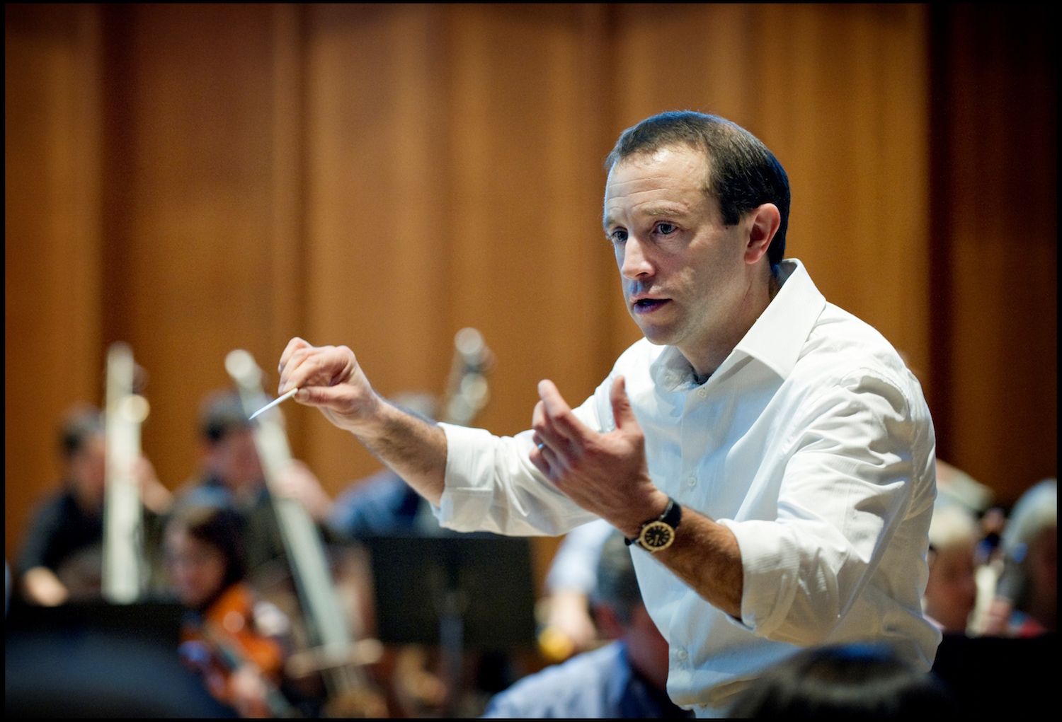 Conductor Mark Wigglesworth (Credit: Sim Canetty-Clarke)