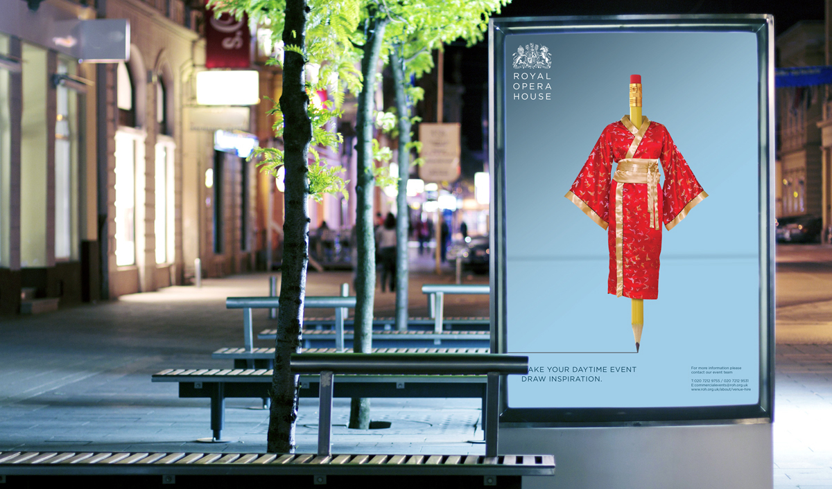 Royal Opera House advertisement (designinc)
