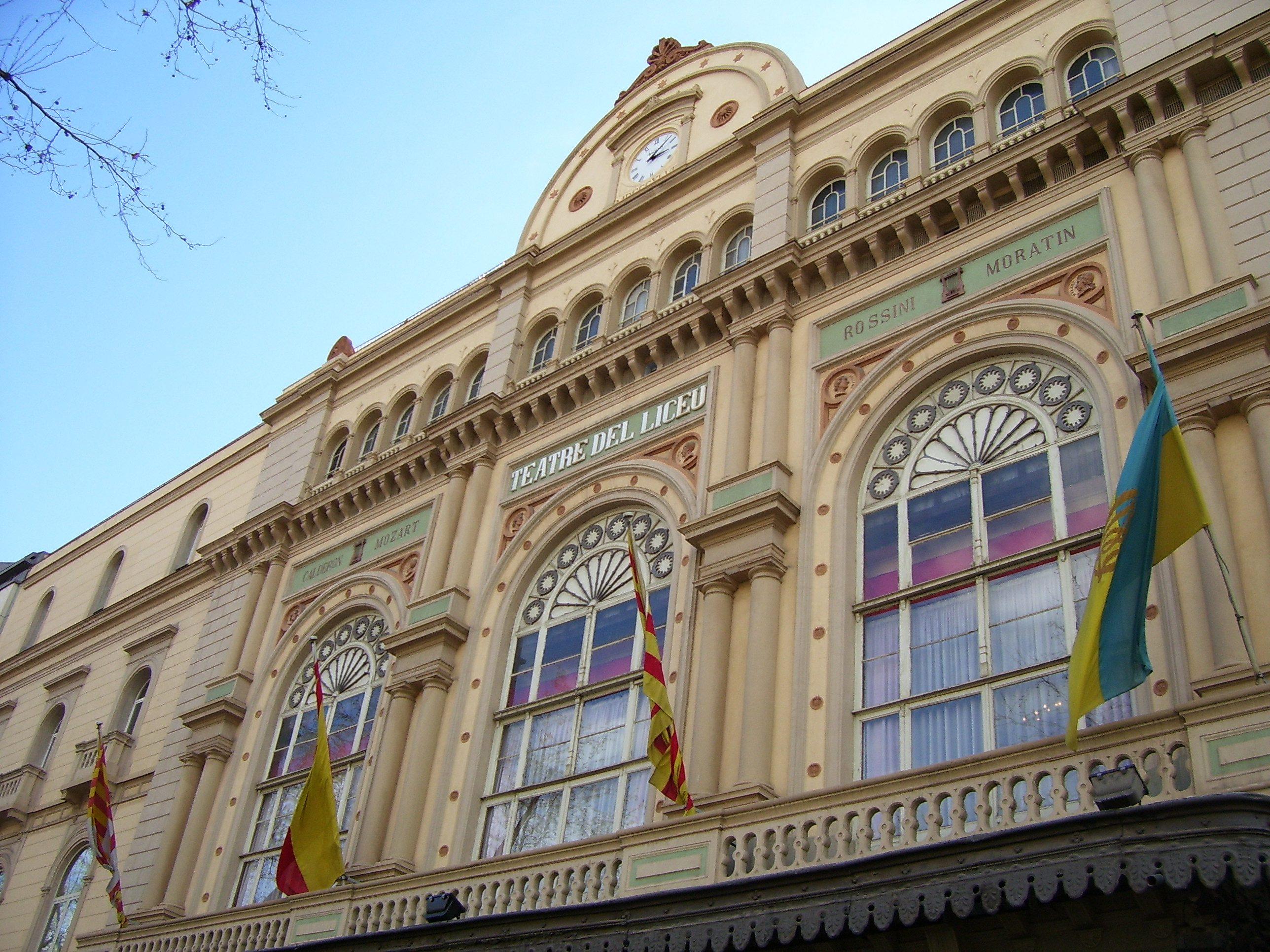Opera House, Barcelona, Spain (Brian Wise)