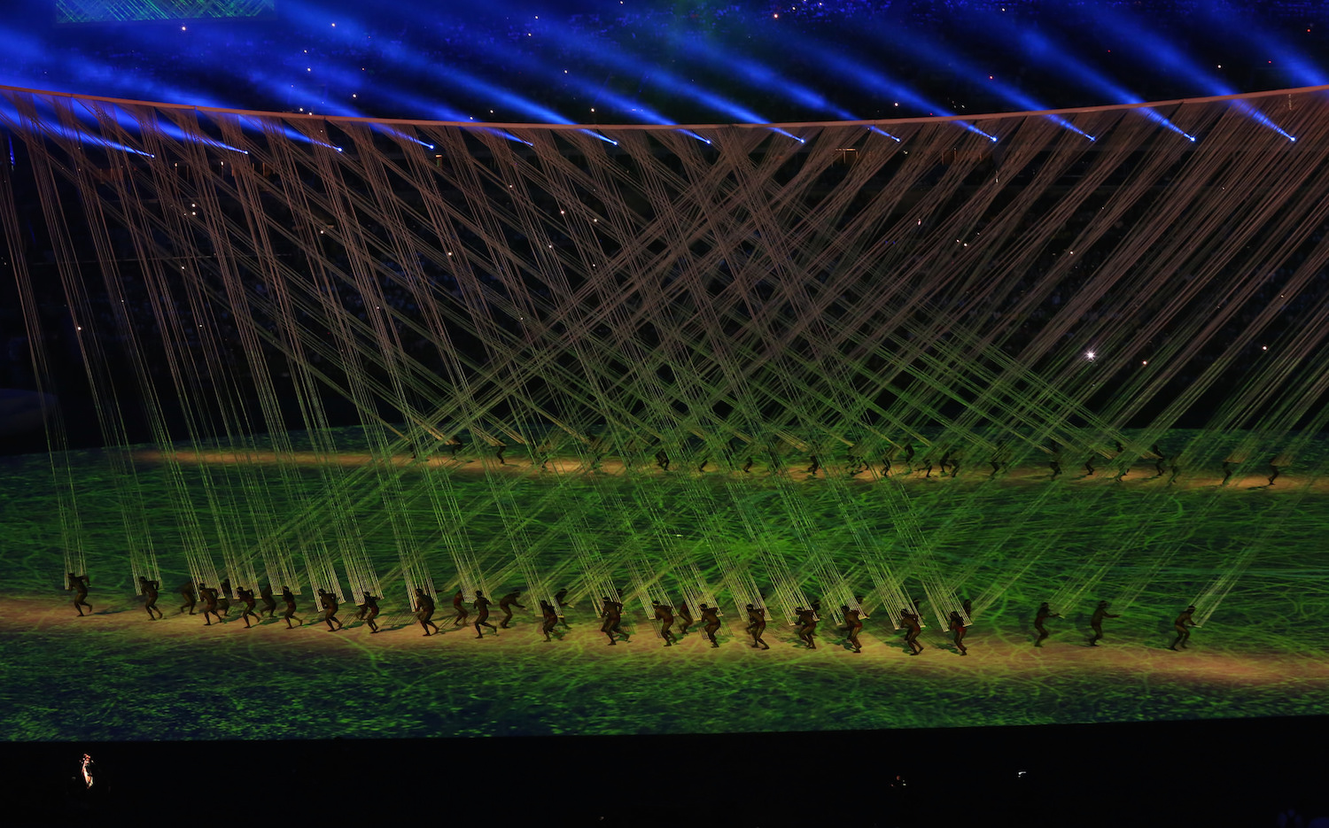 Opening Ceremony to the 2016 Summer Olympic games in Rio de Janeiro, Brazil (photo: Andy Miah/Flickr)
