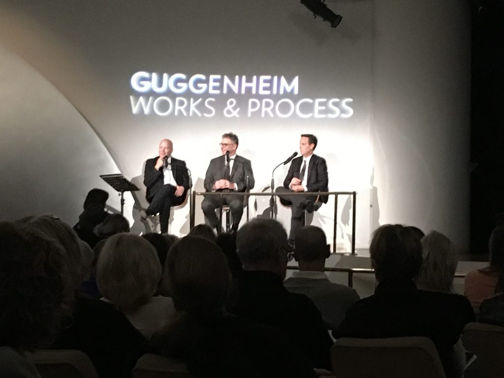 Patrick Summers, Gene Scheer and Jake Heggie talk new opera at the Guggenheim Museum