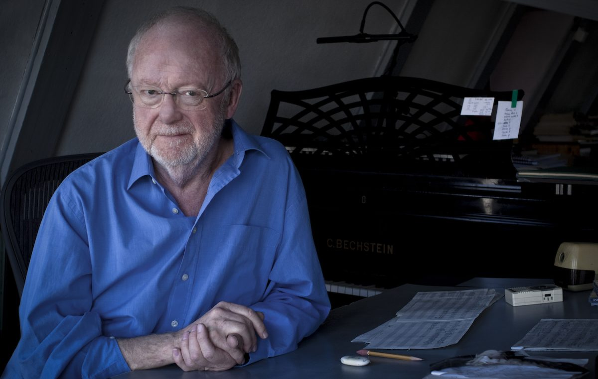 Louis Andriessen (photo: Francesca Patella)