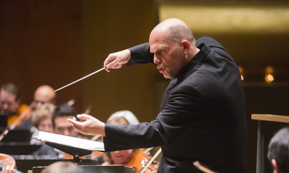Jaap van Zweden conducts the New York Philharmonic (Photo: Chris Lee)