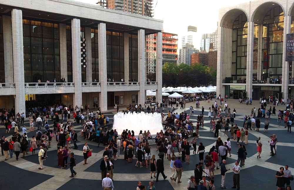 Lincoln Center Festival audiences