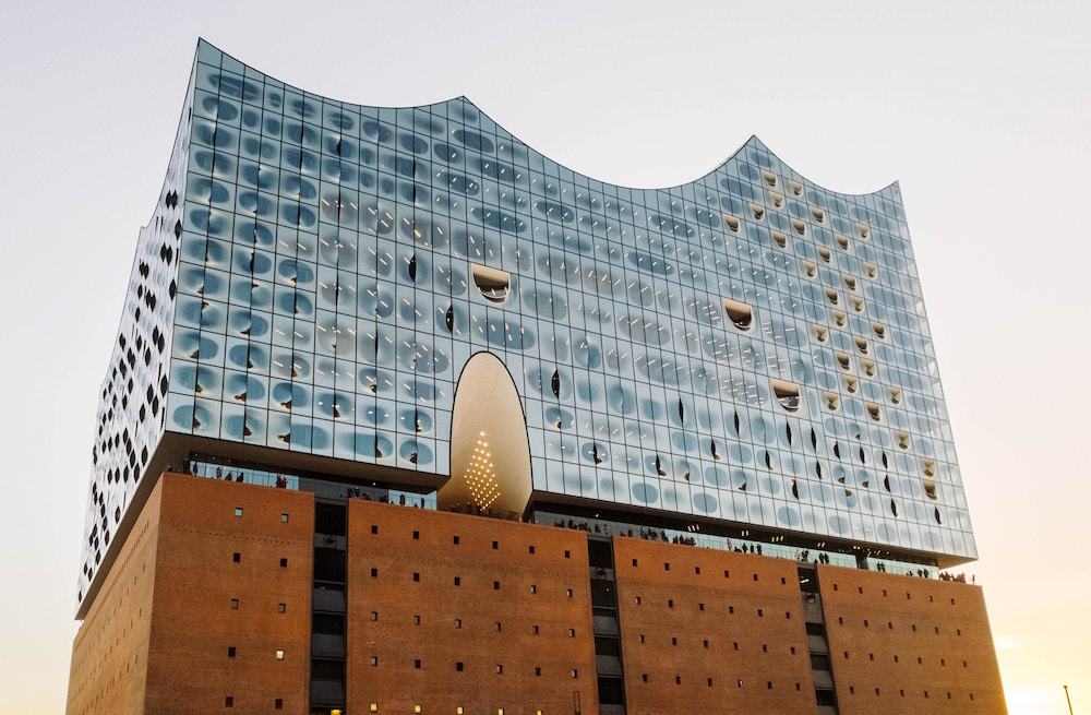 Hamburg's Elbphilharmonie opened in January 2017 (Robert Katzki)