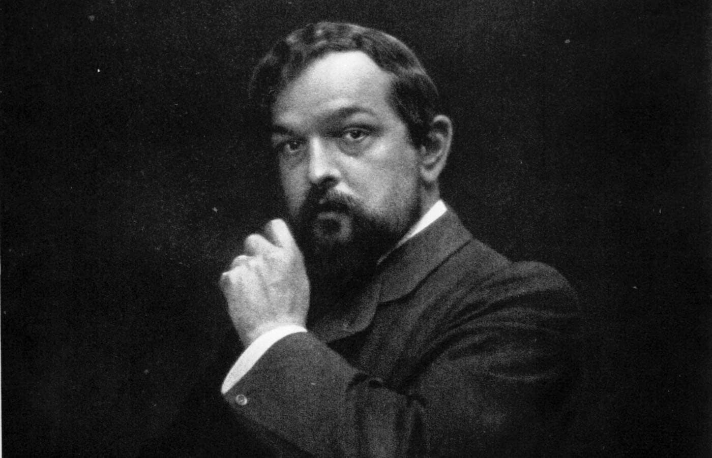 Claude Debussy in June 1908 (Otto Wegener/Wikipedia Commons)