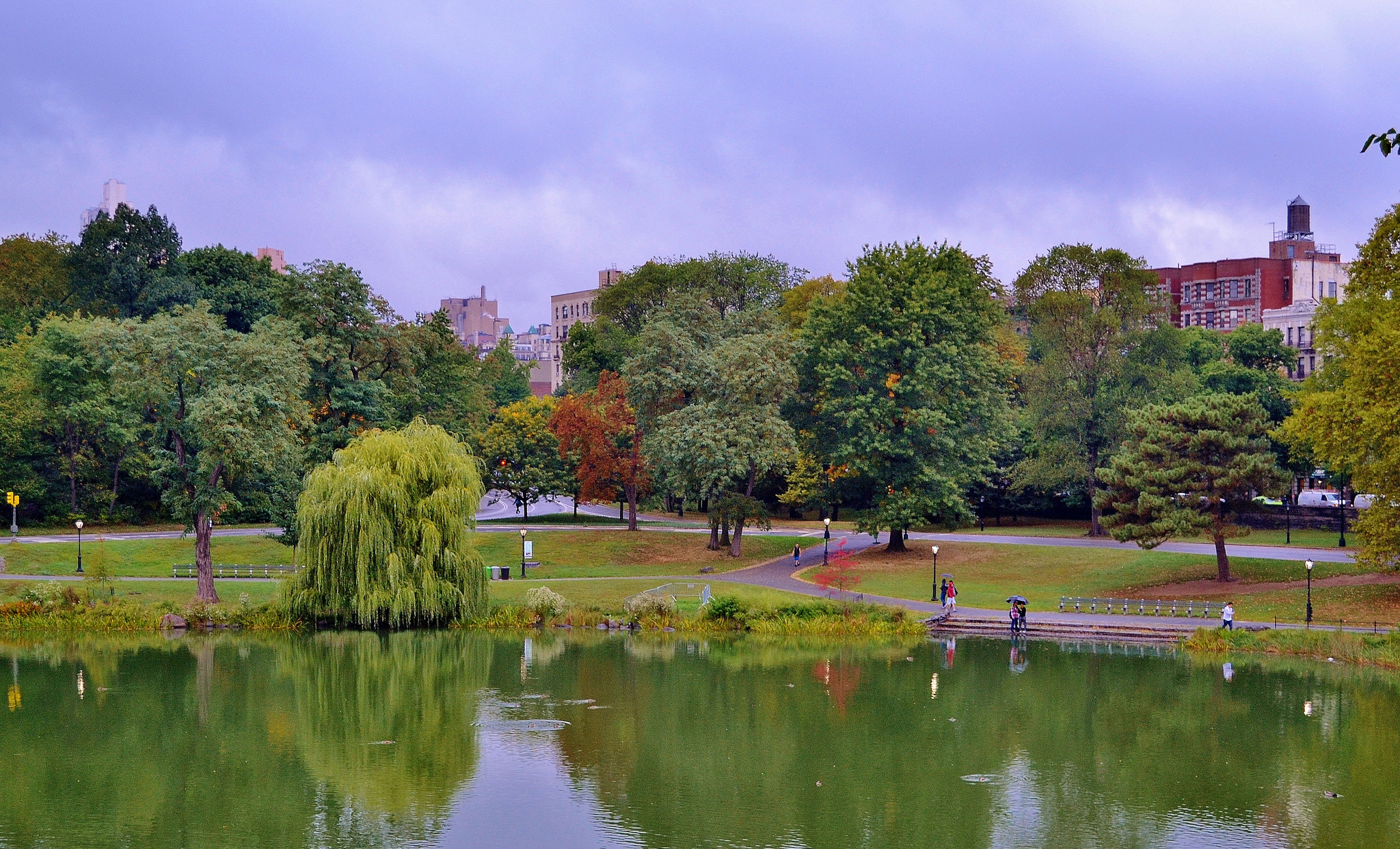 Harlem Meer, Central Park (Flickr/Gigi_nyc)