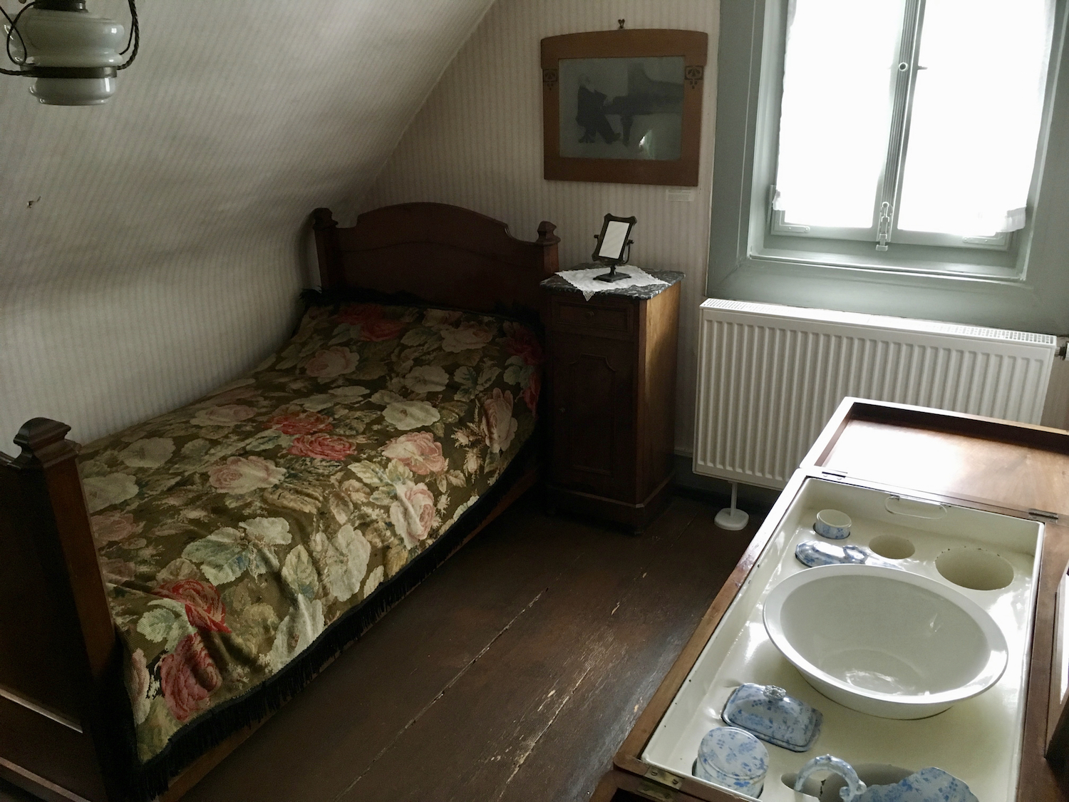 Brahms's Bedroom in Baden-Baden (photo: Brian Wise)