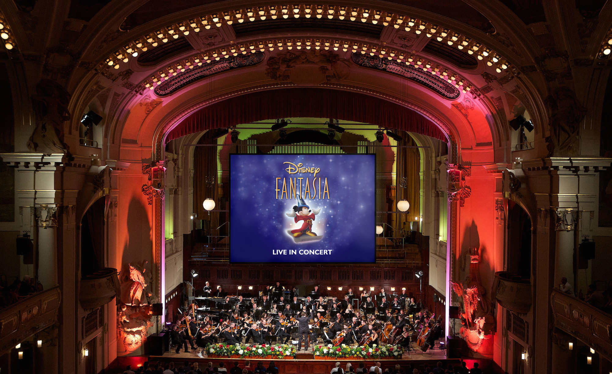 Live orchestra version of Disney's 'Fantasia' (credit: CAMI)