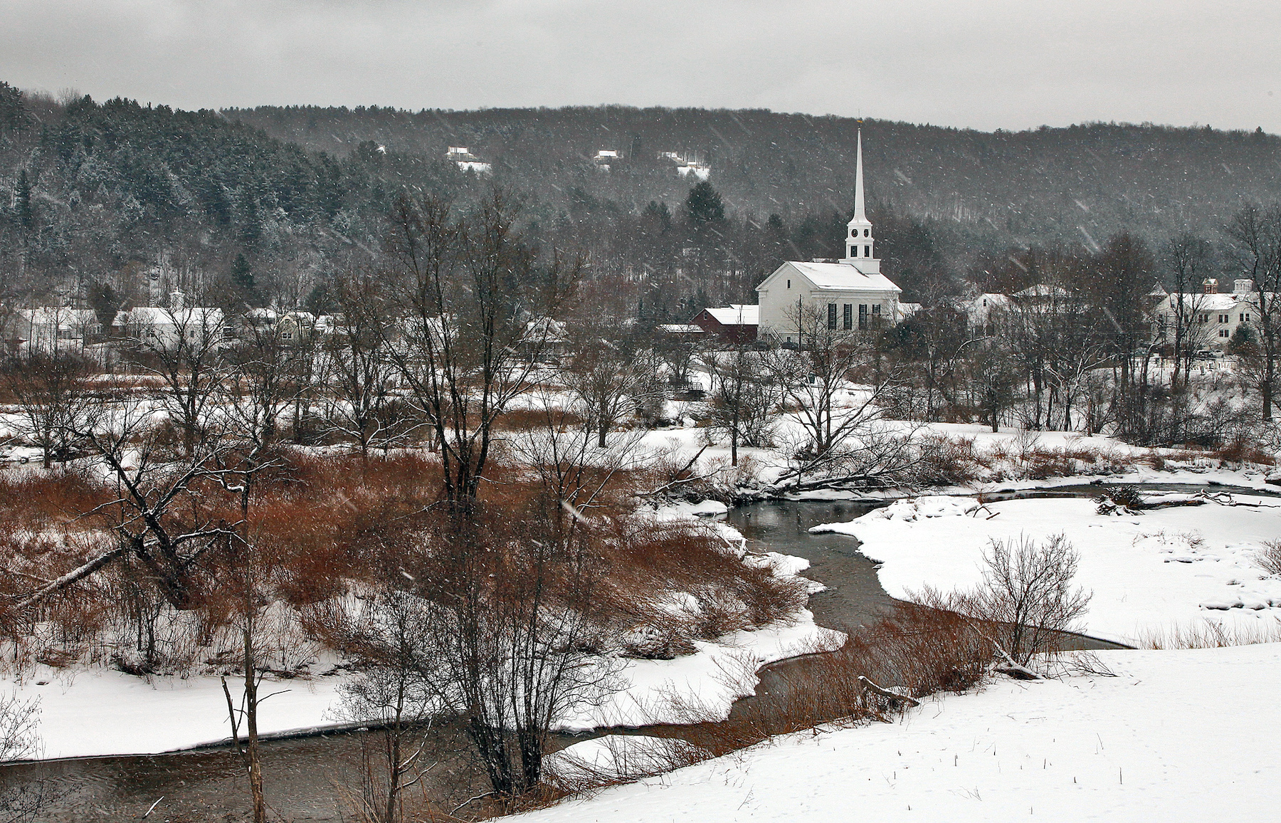 Stowe, Vermont (credit: Flickr/Peter Rintels)