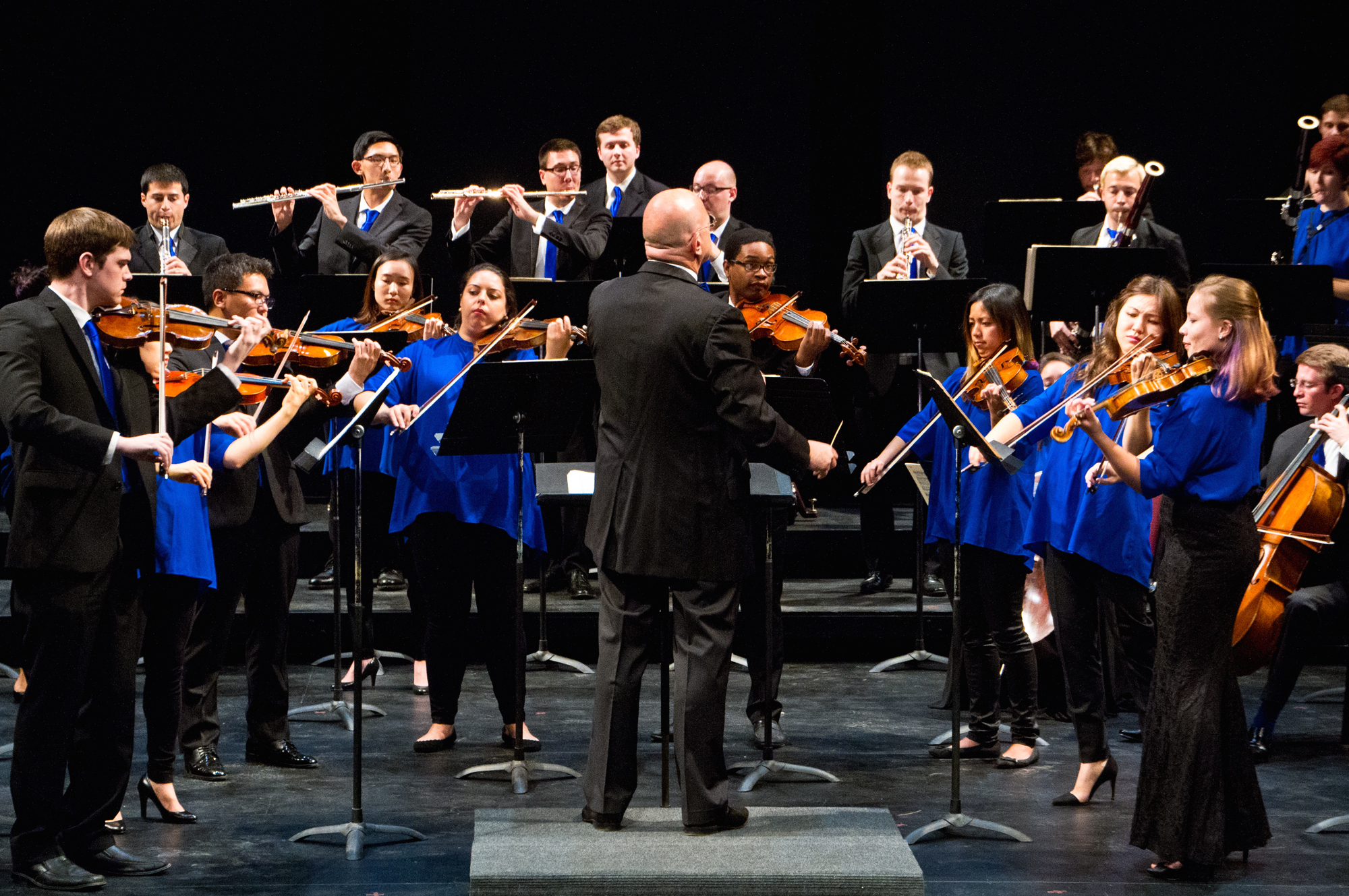 Leon-Botstein conducts The Orchestra Now (Credit: Jito Lee)