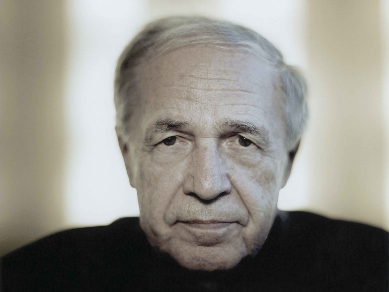 Pierre Boulez in 2004 (credit: Harald Hoffmann DG)