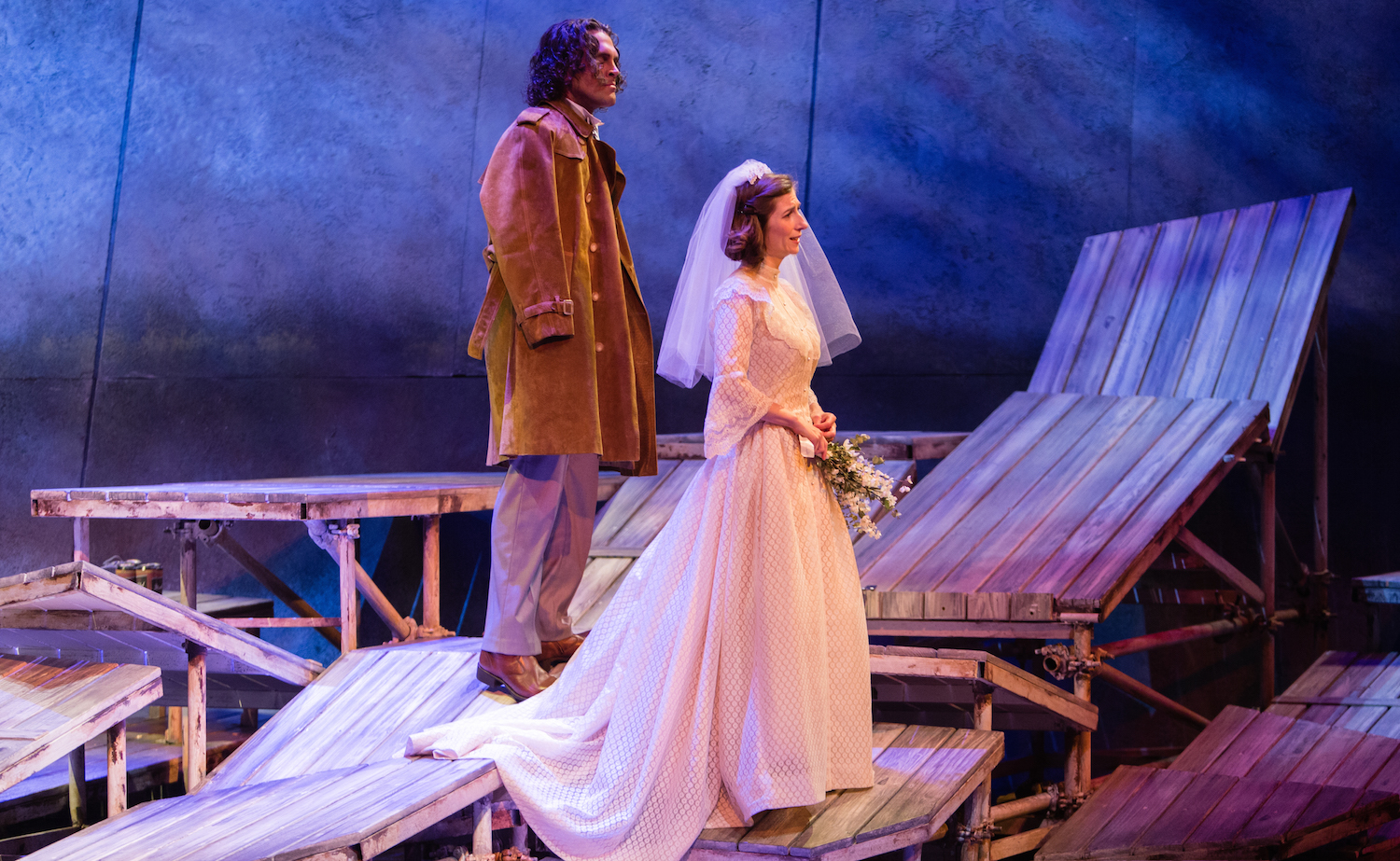 Breaking the Waves at Opera Philadelphia, based on the Lars von Trier film (photo: Dominic M. Mercier)