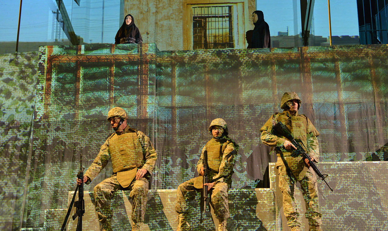 Fallujah, the opera (photo: Keith Ian Polakoff/Long Beach Opera)