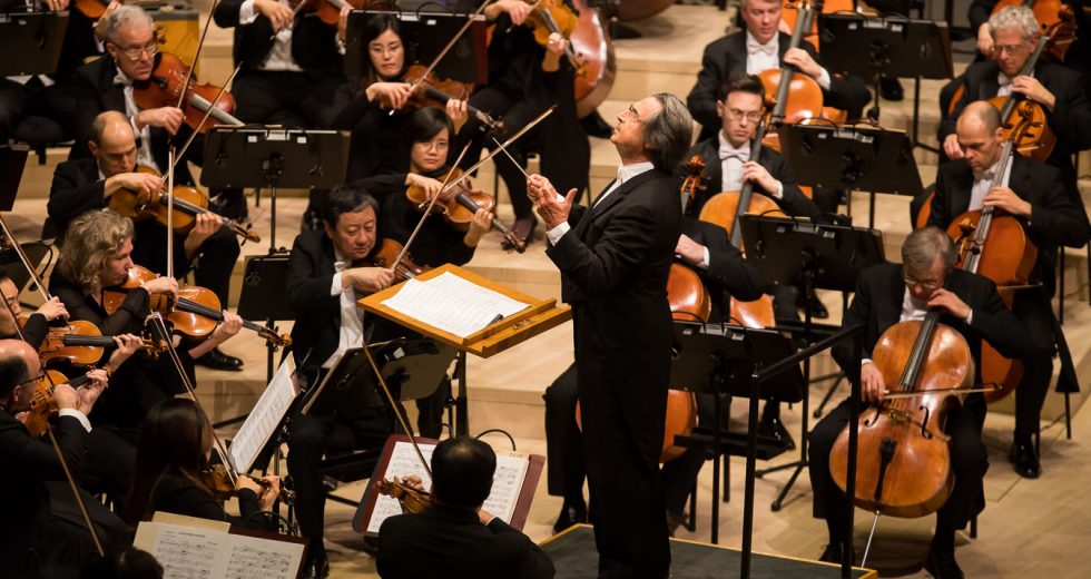 Riccardo Muti conducts the Chicago Symphony Orchestra