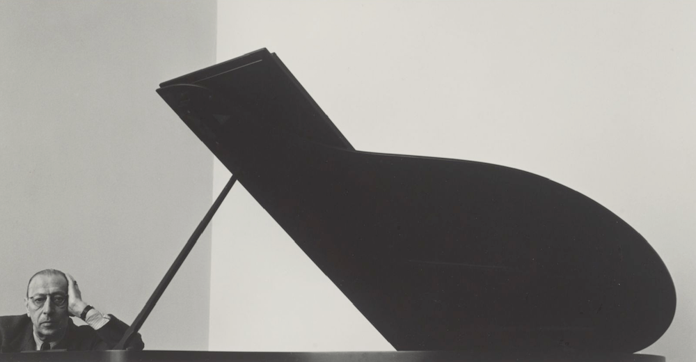 Igor Stravinsky, New York City (1946) Photo: Arnold Newman (Wikipedia Commons)
