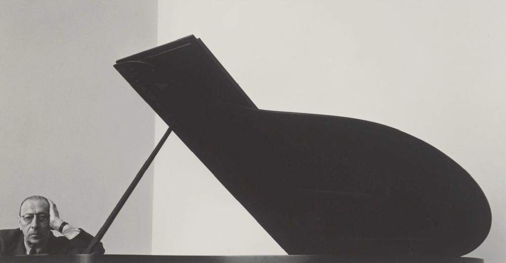 Igor Stravinsky, New York City (1946) Photo: Arnold Newman (Wikipedia Commons)
