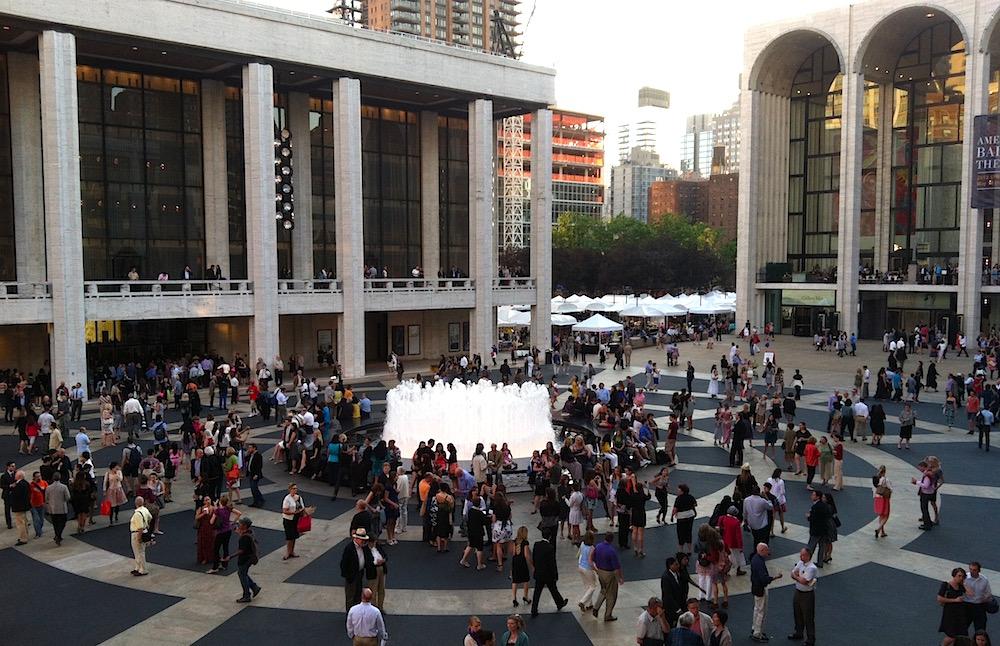 Lincoln Center Festival audiences
