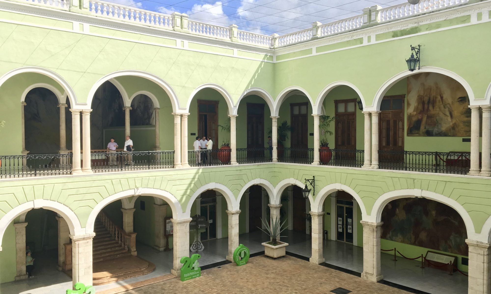 Palacio de Gobierno, Merida, Mexico