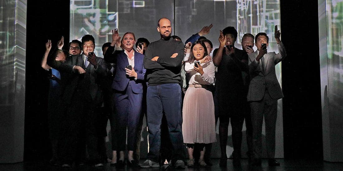 John Moore in The Revolution of Steve Jobs (Seattle Opera)