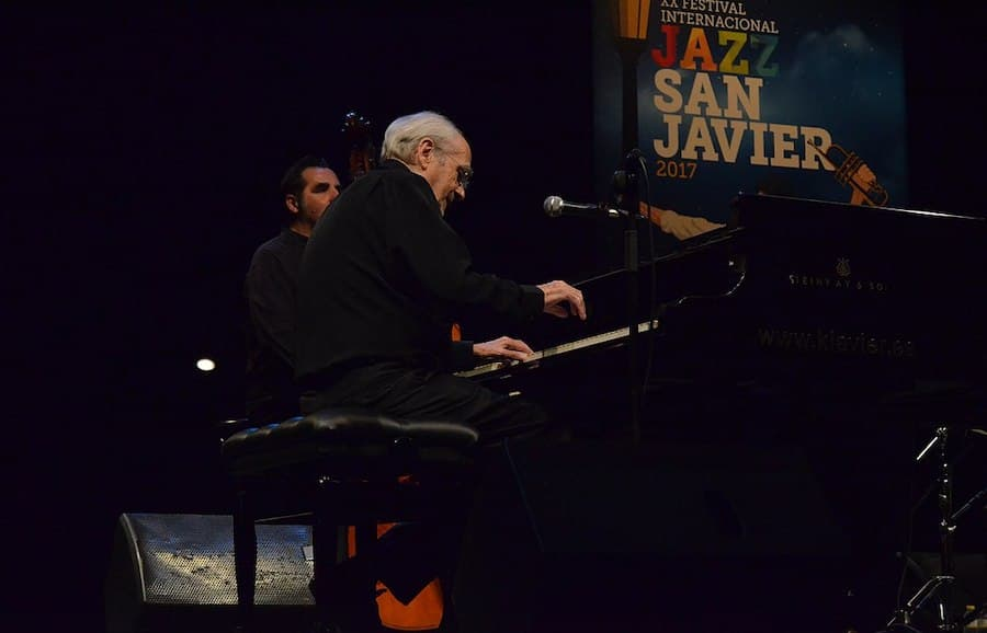 Michel Legrand at the Festival Internacional de Jazz de San Javier