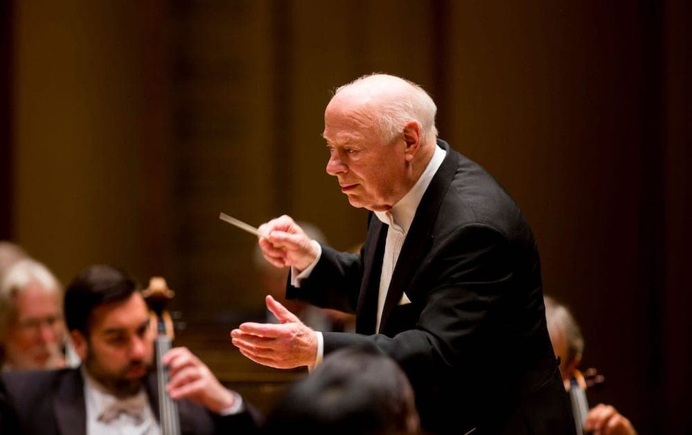 Bernard Haitink leads the Chicago Symphony Orchestra (Photo: Todd Rosenberg)