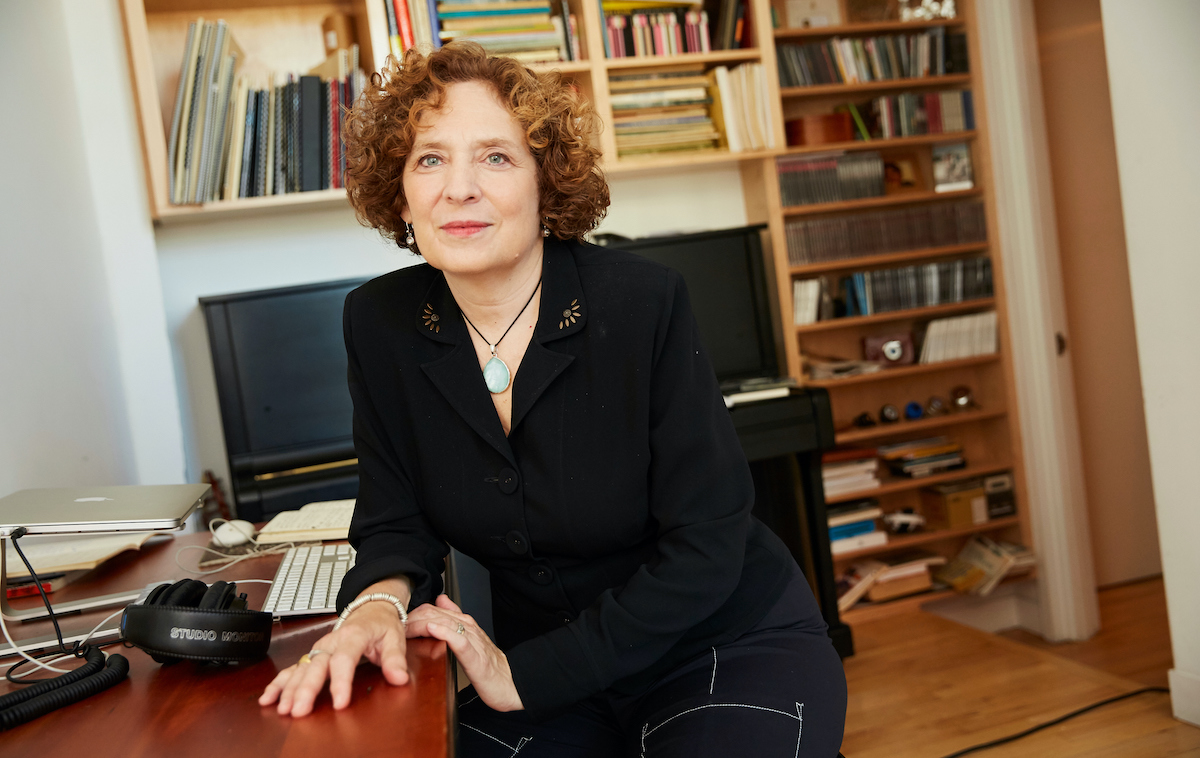 Julia Wolfe, composer (Photo: John D. & Catherine T. MacArthur Foundation)