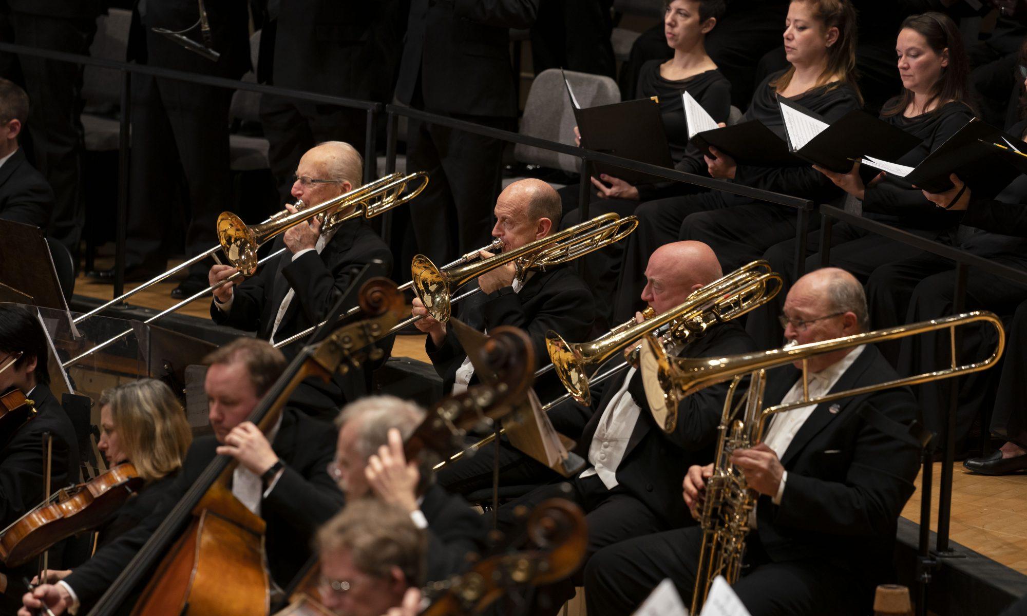 The Chicago Symphony Brass