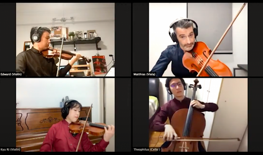 Concordia Quartet low latency