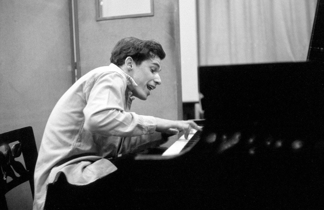 "Glenn Gould recording Bach's ""Goldberg"" Variations in 1955 (Fred Plaut, Sony Music Entertainment)"