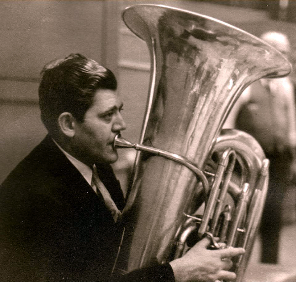 Arnold Jacobs, longtime member of the CSO's brass section